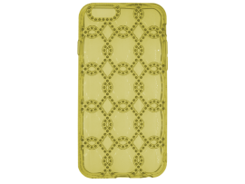 iPhone Xs Max Silicone Diamond Chain-Patroon Achterkant
