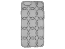 iPhone 7/8 Silicone Diamond Chain-Patroon Achterkant